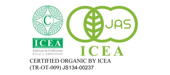 有機JAS認定ICEA