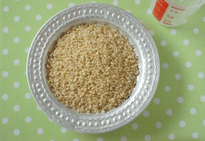玄米茶材料