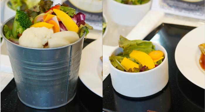 たまな食堂ランチサラダ