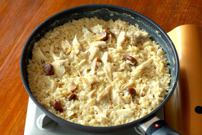 玄米リゾット作り方4