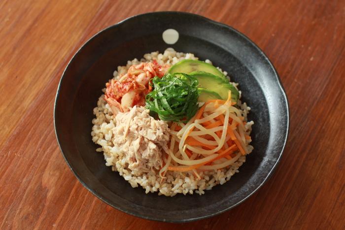玄米ビビンバ作り方3