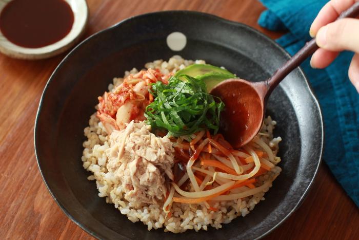 玄米ビビンバ