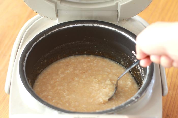 玄米甘酒作り方