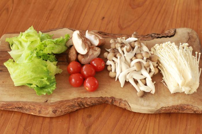 オリーブオイル鍋材料