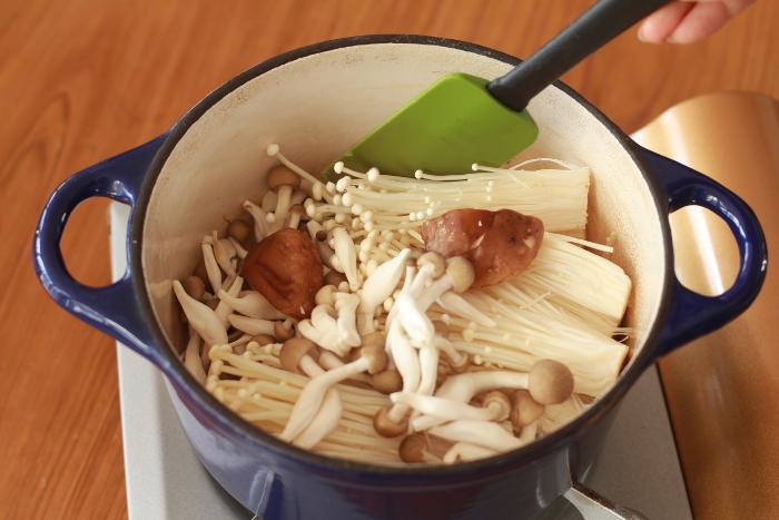 オリーブオイル鍋作り方