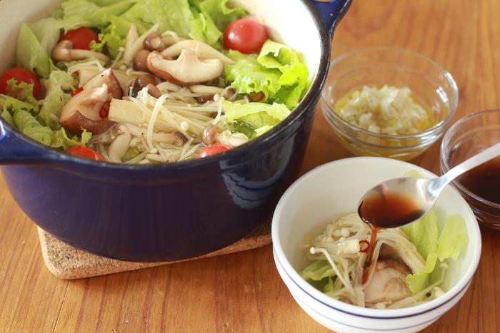 オリーブオイル鍋