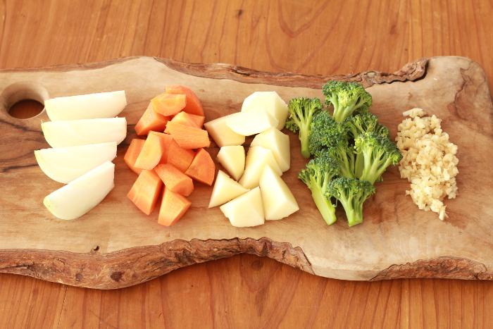 オリーブオイルシチュー作り方