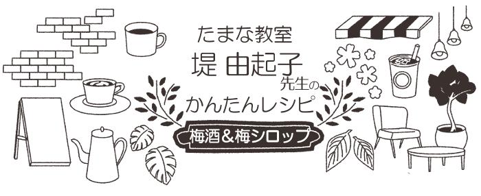 堤由起子先生のレシピ