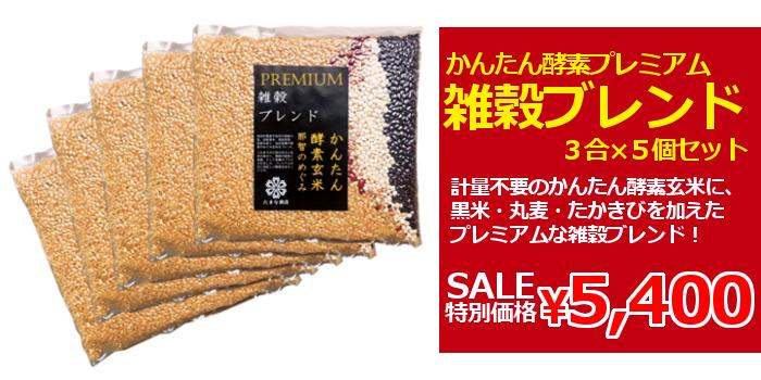 目玉商品プレミアム酵素玄米