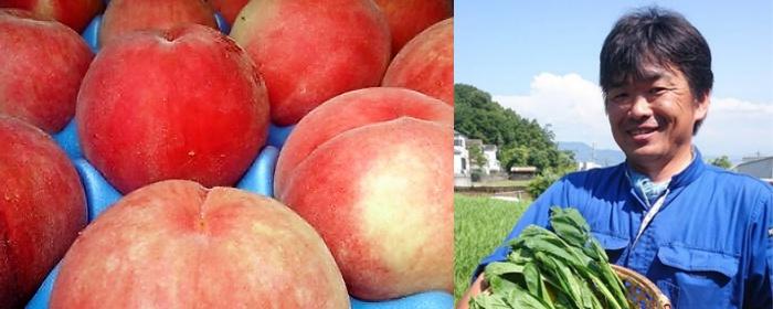片山さんのあらかわの桃